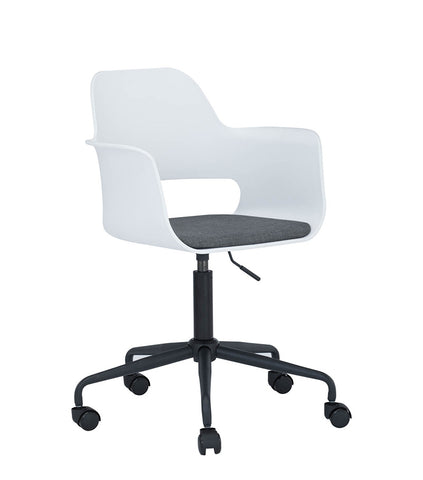 LAXMI Swivel Chair - White