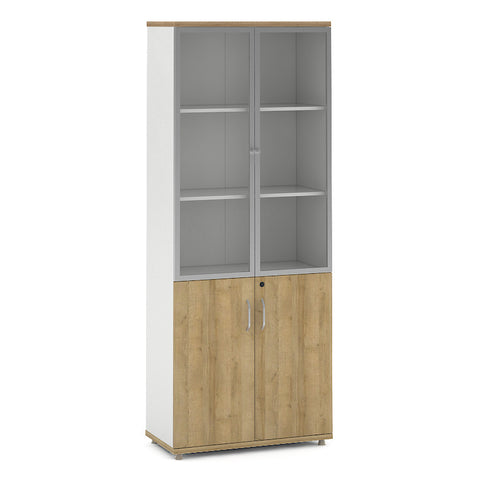 DANTE Dispaly Cabinet 2 Doors 80cm - Kaldi Wood