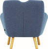 Wagon Lounge Chair - Midnight Blue - Royaal Range