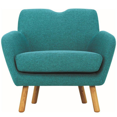 Wagon Lounge Chair - Nile Green - Royaal Range