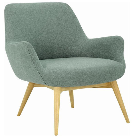 Berlingo Lounge Chair - Marble Blue - Royaal Range