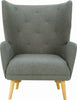 Kiwami Lounge Chair - Battleship Grey - Royaal Range