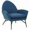 Lavinda Lounge Chair - Midnight Blue - Royaal Range