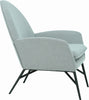 Lavinda Lounge Chair - Pale Silver - Royaal Range