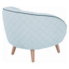 BRAT Lounge Chair - Aquamarine Colour