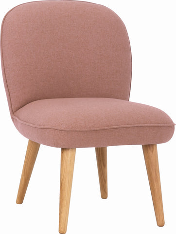 HORNET Lounge Chair - Burnt Umber Colour