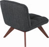 Feiro Lounge Chair - Liquorice Colour