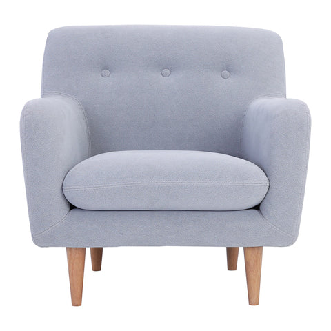 SPORTAGE Single Seater Sofa - Smoke Colour
