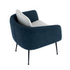 Cougar Lounge Chair - Twilight & Grey Colour