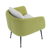 Cougar Lounge Chair - Tea Green & Pale Golden Colour