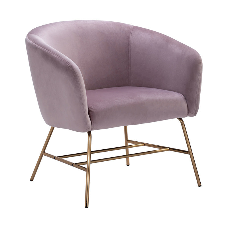 GALEN Lounge Chair - Rosa