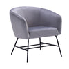 GALEN Lounge Chair - Ash Grey