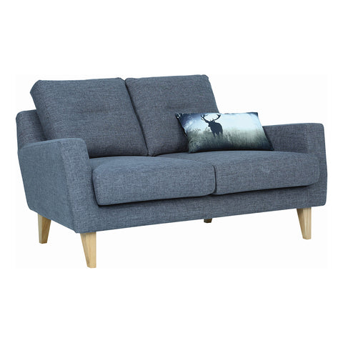 MALIBU 2 Seater Sofa - Marble Blue