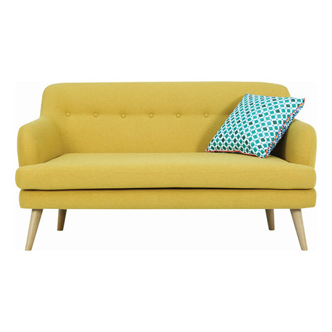 EXELERO 2 Seater Sofa Yellow