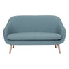 PRIUS 2 Seater Sofa Marble Blue