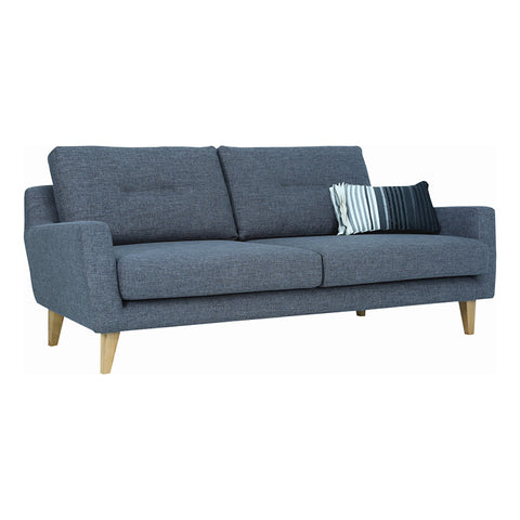 MALIBU 3 Seater Sofa - Marble Blue