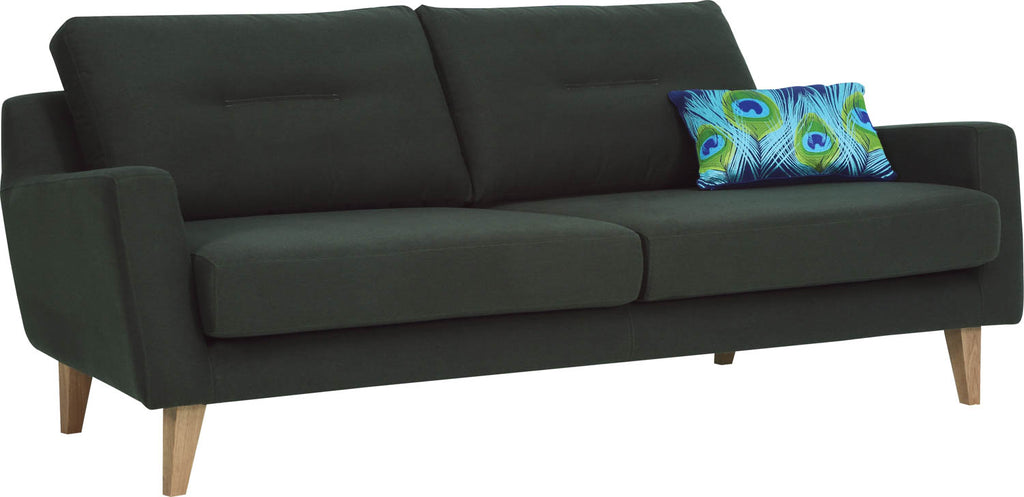 MALIBU 3 Seater Sofa - Green