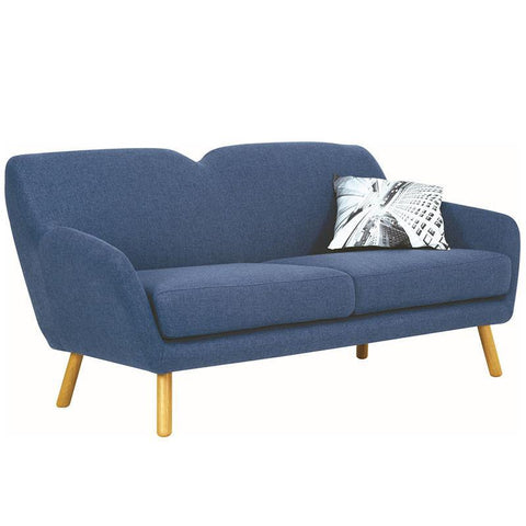 Wagon 3 Seater Sofa - Midnight Blue - Royaal Range