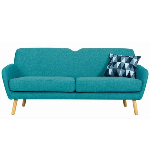 Wagon 3 Seater Sofa - Nile Green - Royaal Range