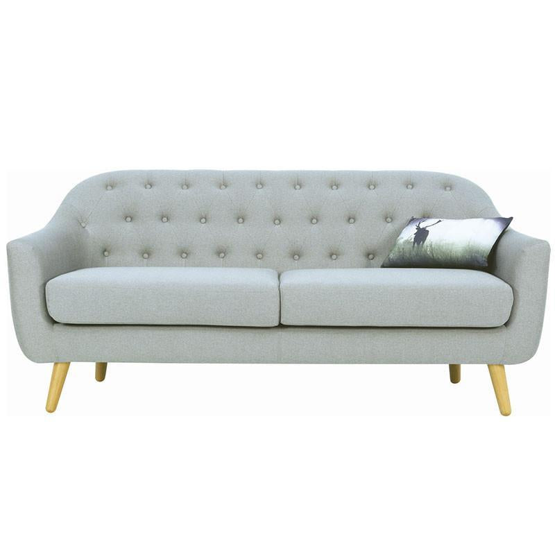 Senku 3 Seater Sofa Grey Royaal Range Wholesale
