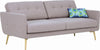 Stream 3 Seater Sofa - Oak Brown - Royaal Range