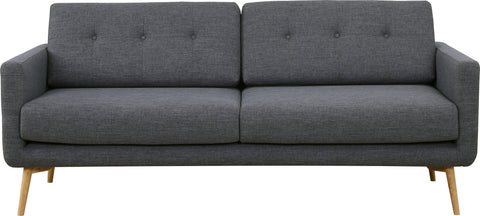 Stream 3 Seater Sofa - Seal Grey - Royaal Range
