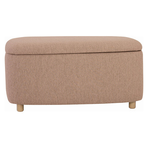 DAYTONA Ottoman with Storage - Large - Oak Brown