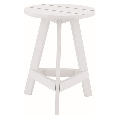 Yumi Stool White Lacquered