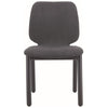 Missie Dining Chair - Black + Dark Grey