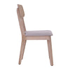 CORBIN Dining Chair - Acacia Solid Wood - Havana Sandblast Colour