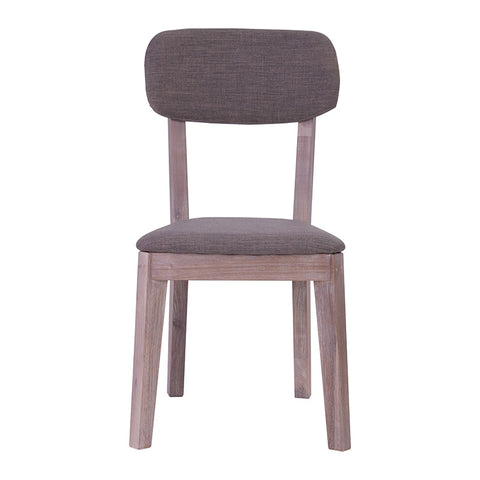 MADRID Dining Chair - Acacia Solid Wood - Uneven Distress Colour