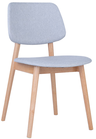 MERCY Dining Chair - Natural/ Light Grey