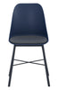 LAXMI Dining Chair - Midnight Blue & Black
