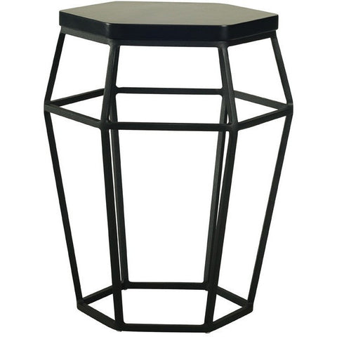 Ford Occasional Table-Stool in Black