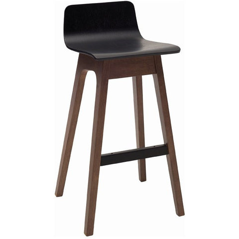 Ava Bar Stool - Black