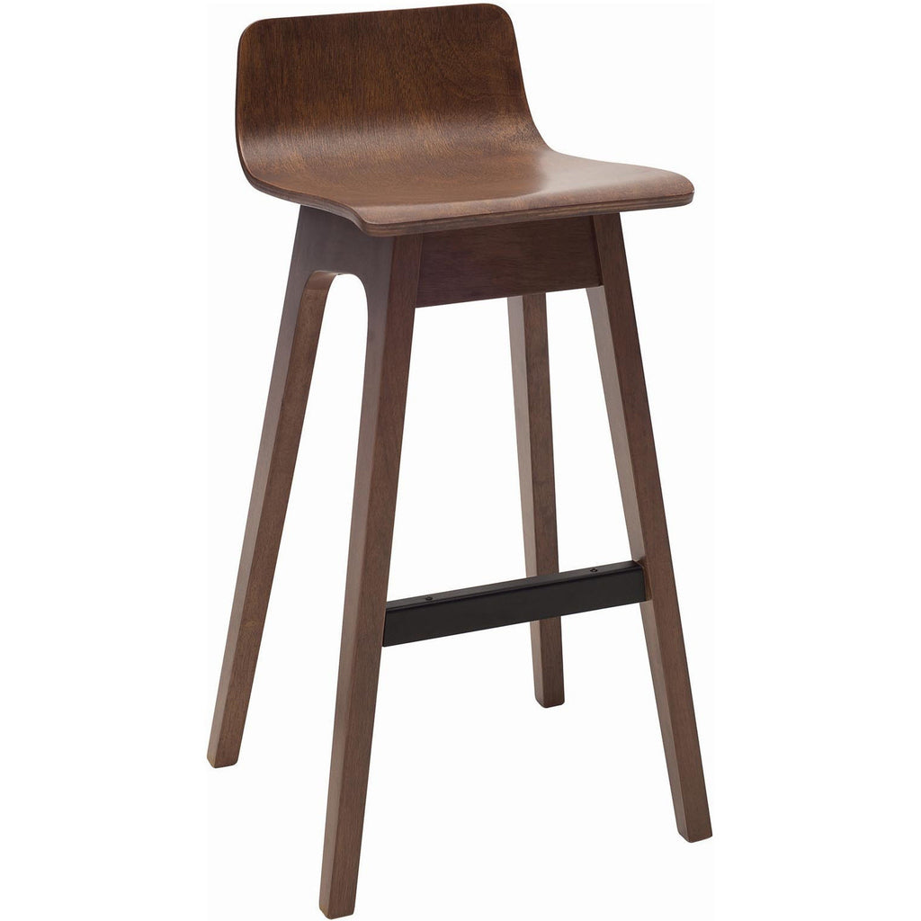 Ava Bar Stool - Walnut
