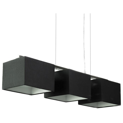 Black Trio Pendant Lights