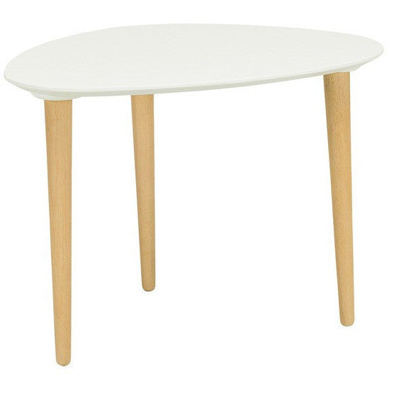 Corey Medium Occasional Table in White