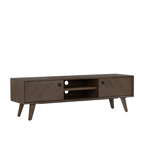 TORRELL 165cm TV Entertainment Unit - Woodline Mocha