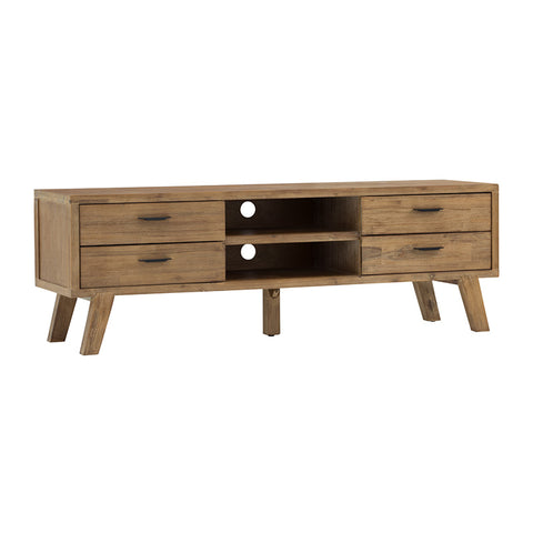 REIKI TV Cabinet 1.65M - Natural Light Venetian Cherry