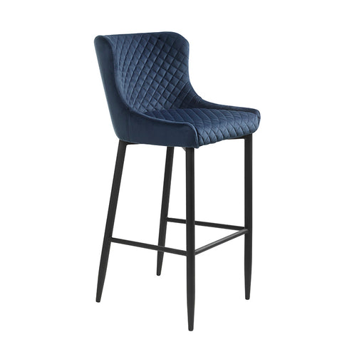 DANYA Counter Stool - Blue
