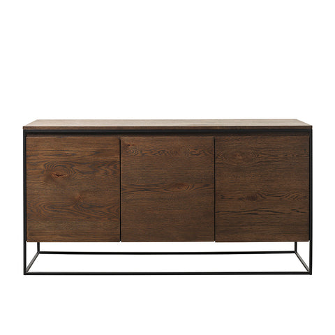 RIVOLI Sideboard 1.5M - Smoked Oak