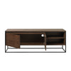 RIVOLI TV Entertainment Unit 1.55M - Brushed Smoked Oak