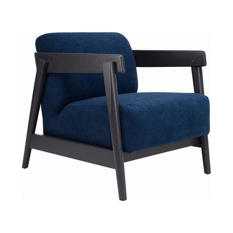 Daewood Lounge Chair In Midnight Blue