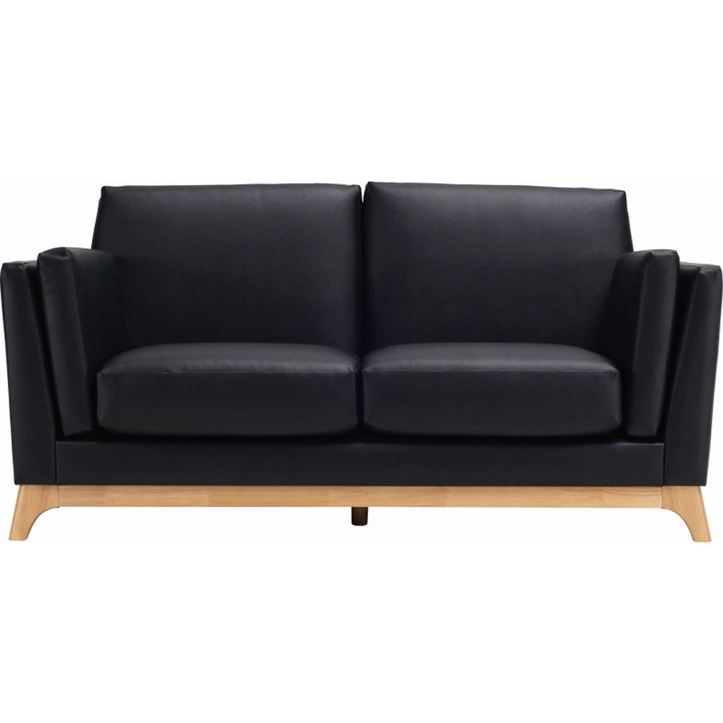 FINN Twin Seater Sofa In Espresso