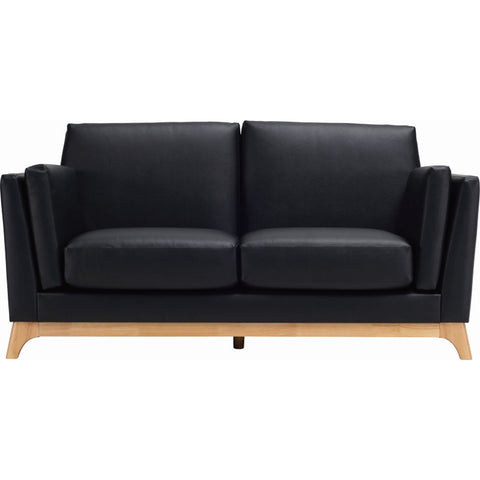 FINN Twin Seater Sofa In Black