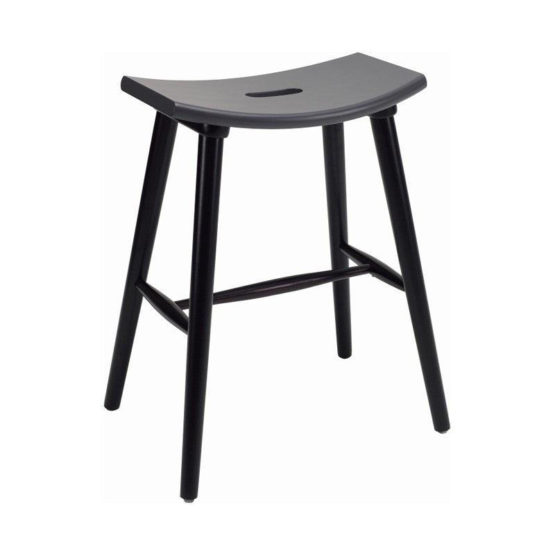 Hollis Counter Stool In Graphite Grey