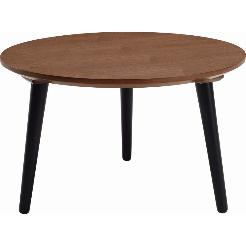 Carsyn Round Coffee Table In Cocoa