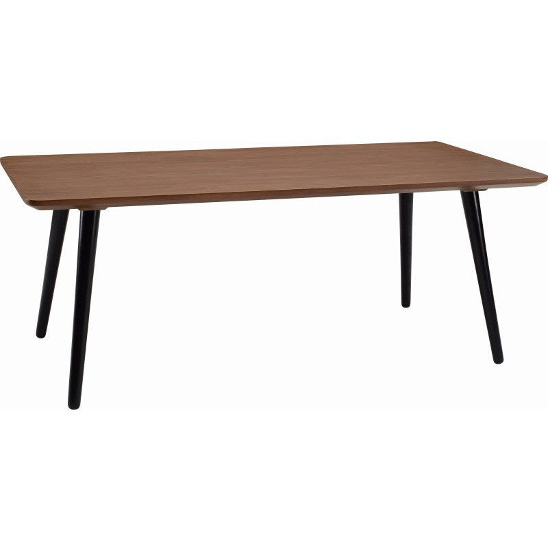 Carsyn Rectangular Coffee Table In Cocoa