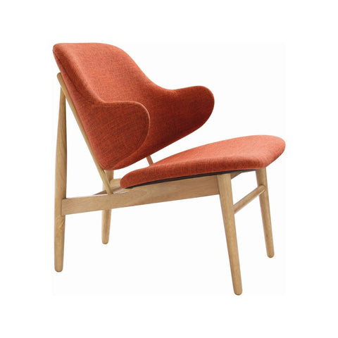 Veronic Lounge Chair in Russet